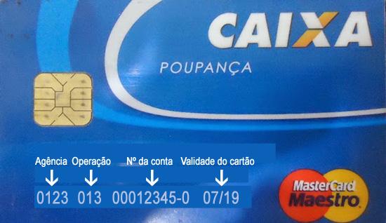 cartão caixa